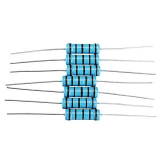 ILS 20 pieces 3W 47R 47 ohm Metal Film Resistor 1/% Error 3w DIP Color Ring Resistance
