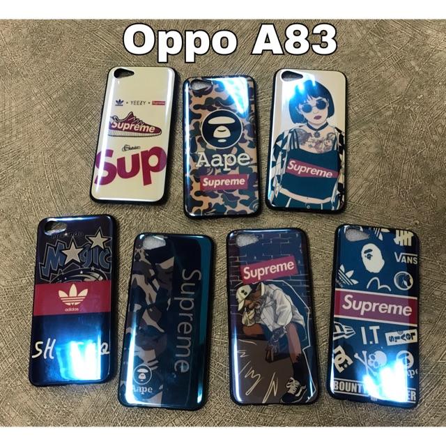 the latest e2630 e33d0 [READY STOCK]📲Oppo A83 BlueLight Trendy SUPREME back case