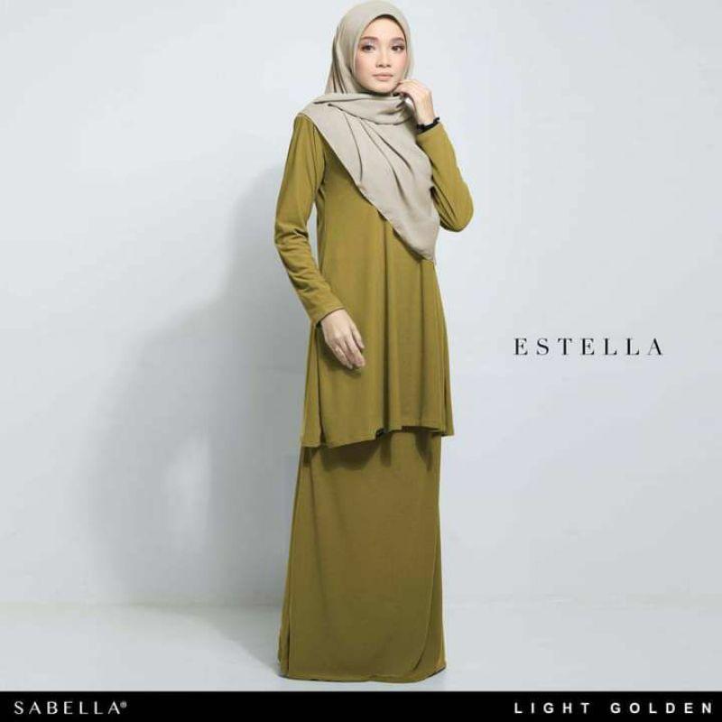 Sabella Estella Kurung Size XS,S,M,L  [Ready Stock]