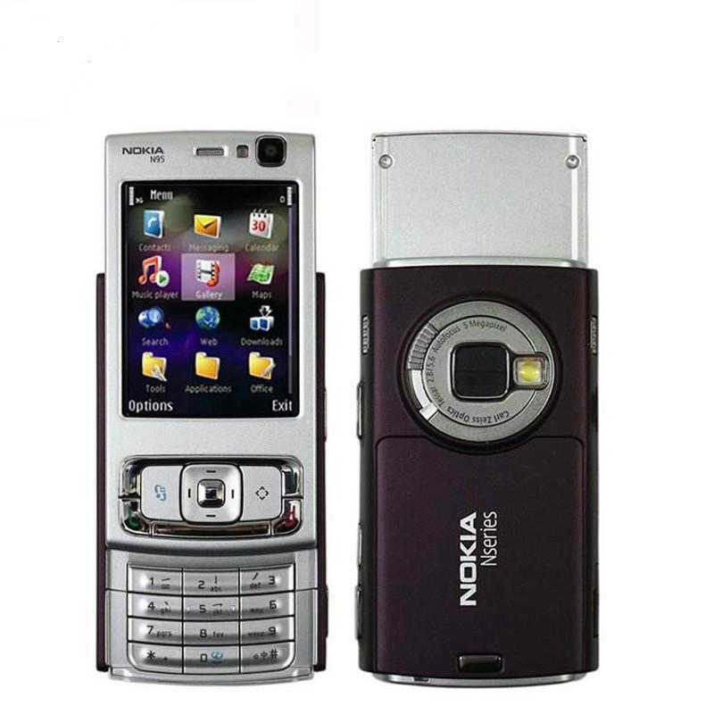 🍑🍑Ready Stock Original Nokia N95 WIFI 3G ( Used - Original 1 Year  Warranty)