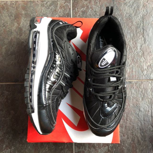 💥NEW ARRIVAL💥NIKE AIRMAX 98 BLACK WHITE [40-44 EURO]