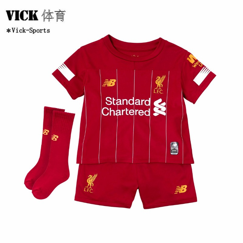 watch 1f674 294a7 (FREE SOCKS) 2019/2020 Newest Liverpool Home Away 3rd Football Jersey Boys  For Kids Children Kit