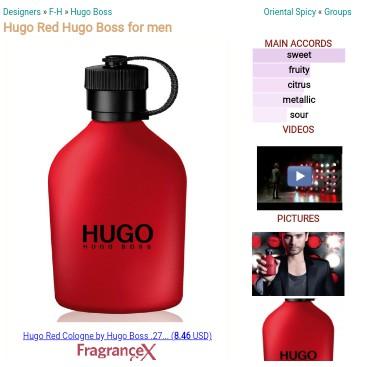 hugo boss red cologne
