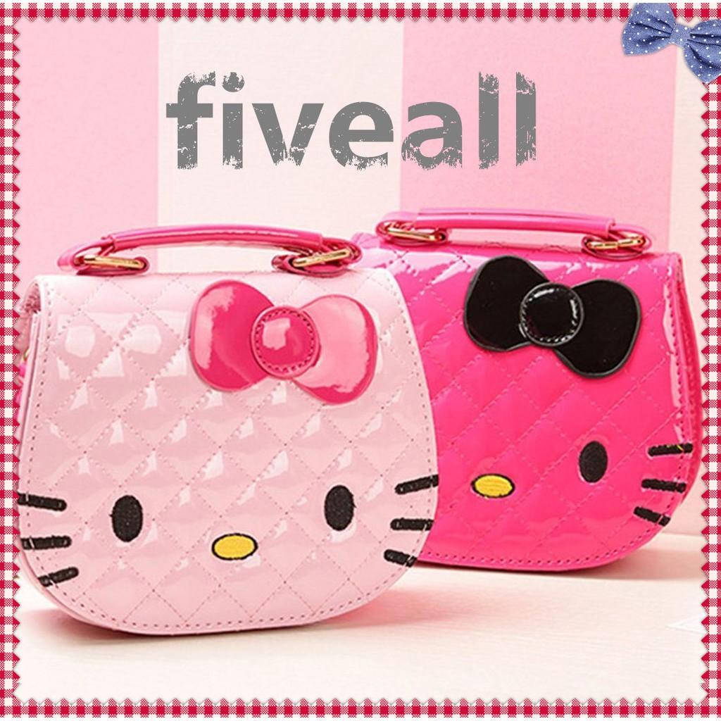 c0a75ebad ProductImage. ProductImage. 🎀Hello Kitty Bag Cartoon Shoulder Handbag Cute  Sling Tote Beg Bags Kids