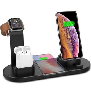 Iphone 11 11 Pro 11 Pro Max Wireless Charger 3 In 1 Wireless Charging Dock Compatible With Apple Watch And Airpods Shopee Malaysia