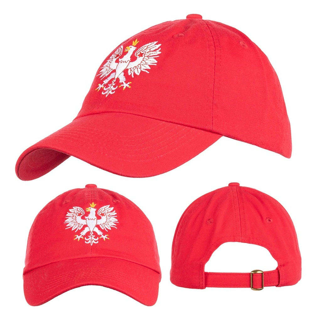 Polska Polish Poland Eagle Baseball Caps Flat Bill