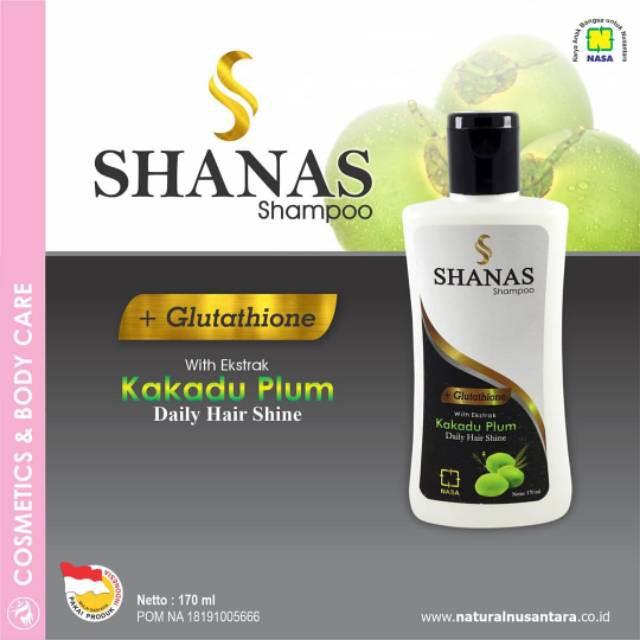 Shampoo Nasa Uban Shanas Shampoo Pelembut Rambut Pencegah Rambut Rontok Shampo Penghilang Uban
