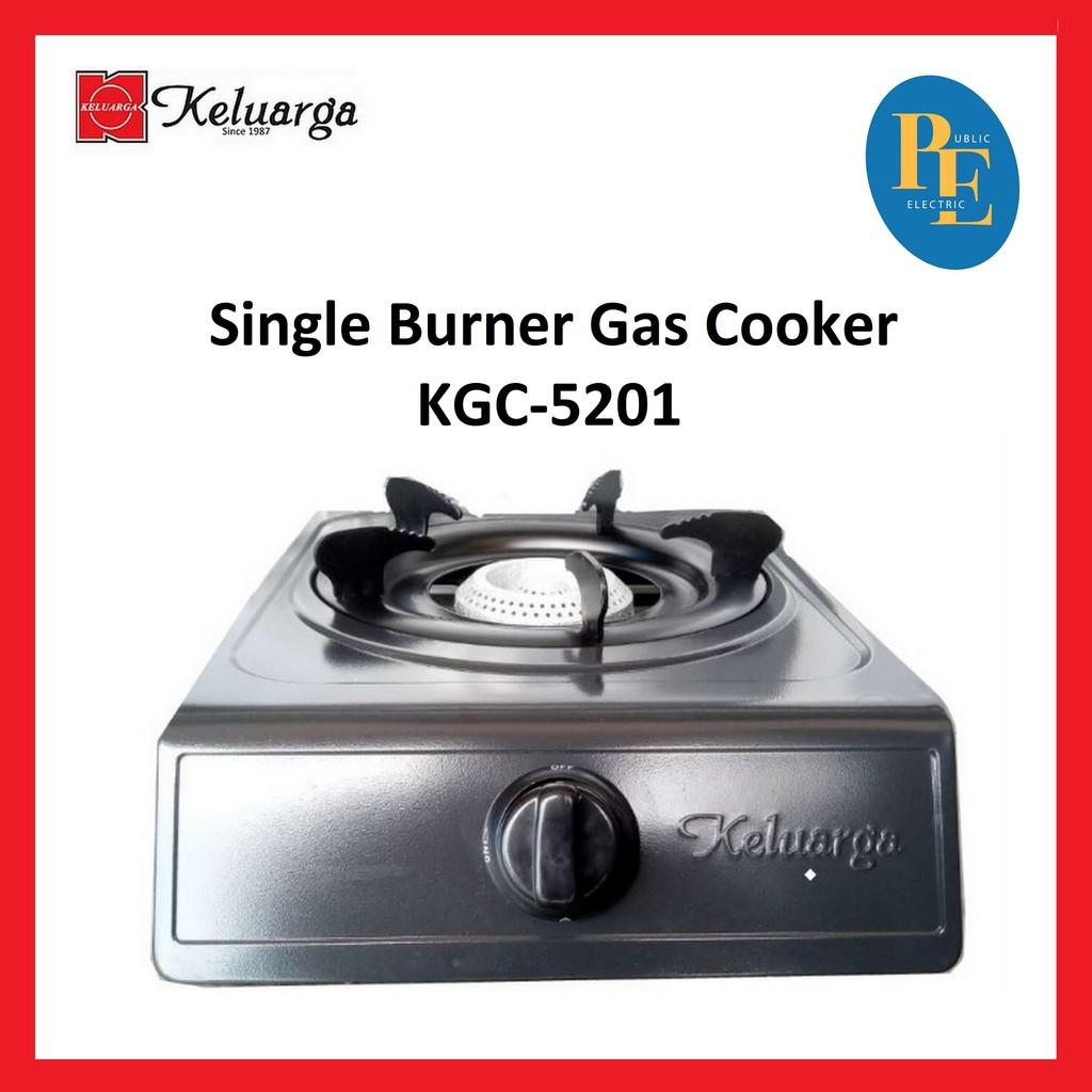 Keluarga Single Burner Gas Cooker Gas Stove - KGC-5201