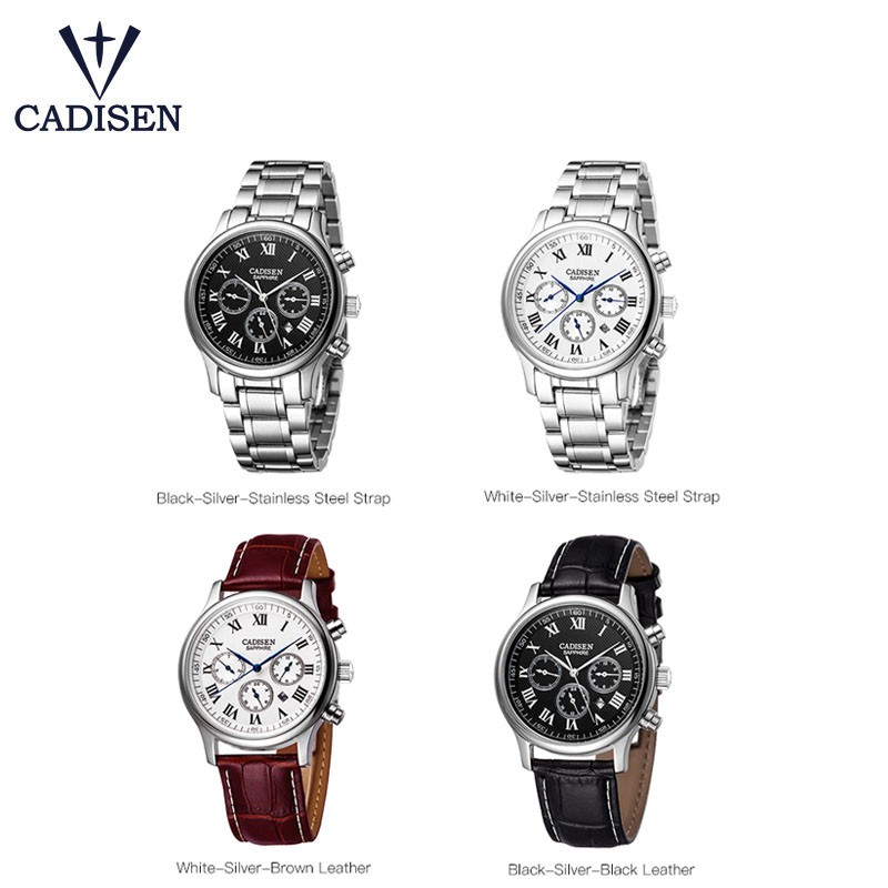 13b382f9faab CADISEN 7057 Business Classic Men Watches Quartz 30M Waterproof Wristwatch