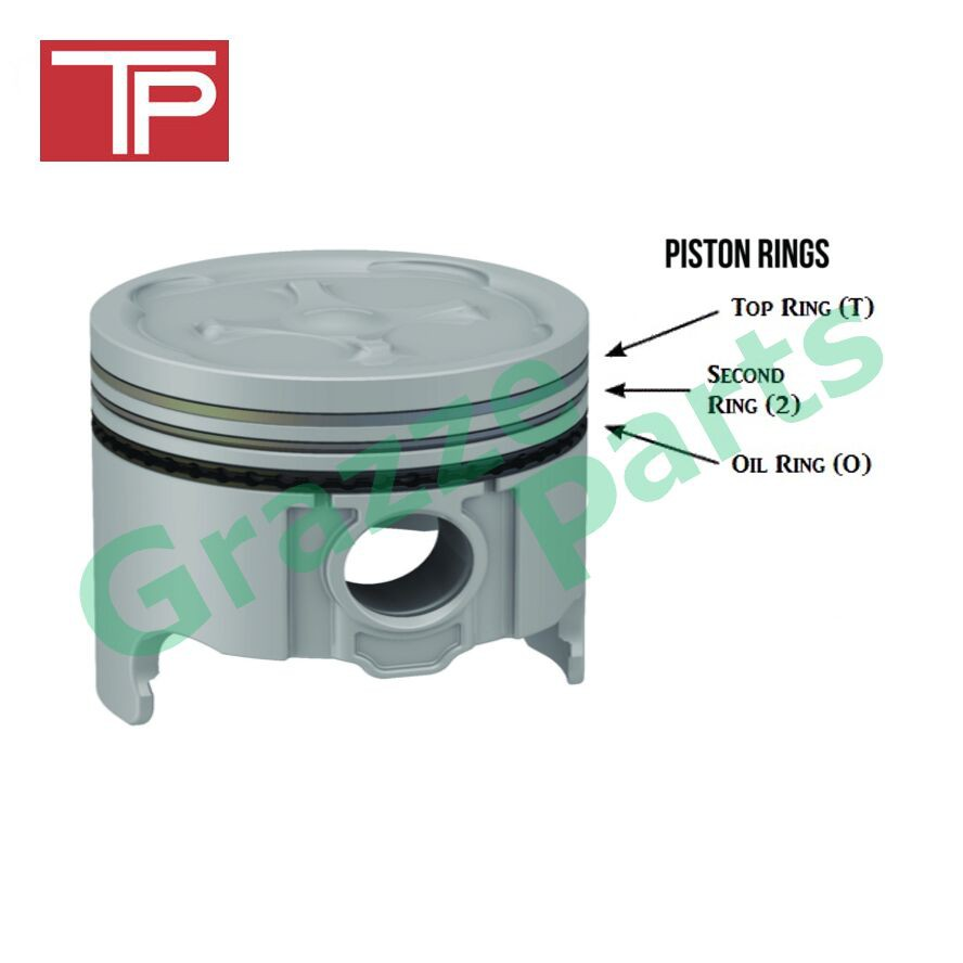 TP Piston Ring 040 (+1mm) Size for Mitsubishi Galant A167 33862-100