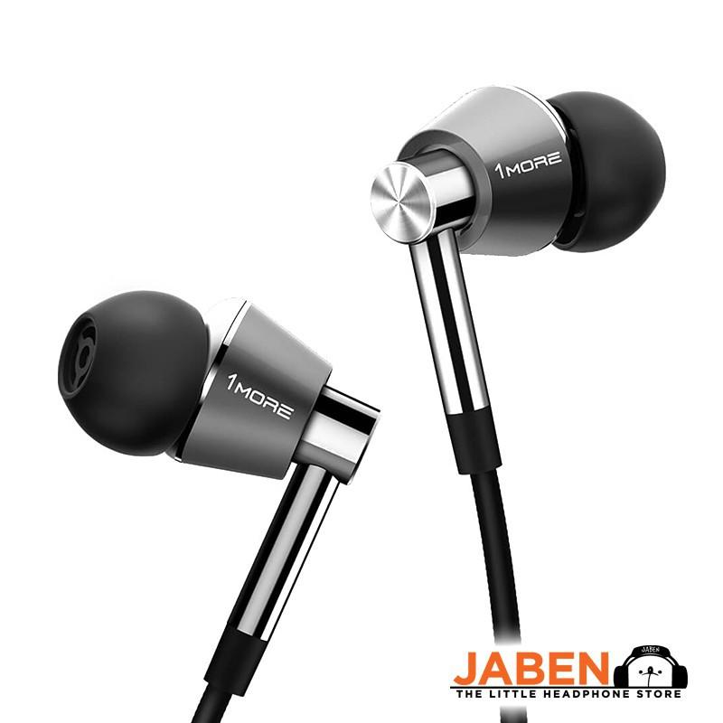 1MORE Triple Driver THX Certified Hybrid Remote Volume Control Microphone In-ear Earphones [Jaben] E1001