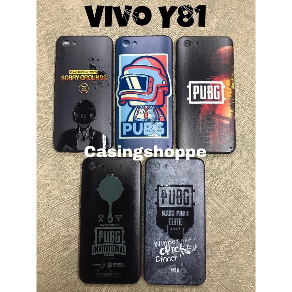 Vivo Y81 Y81i PUBG fashion hard case
