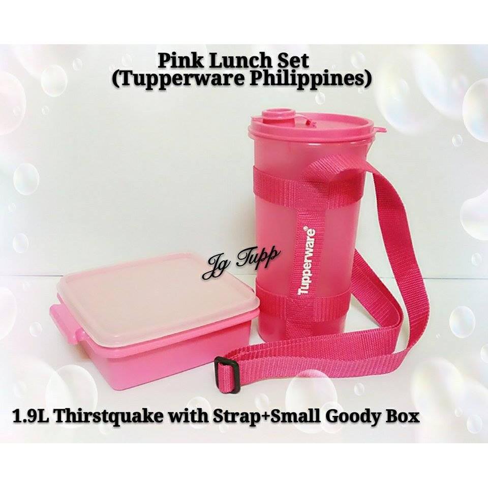 Tupperware Pink Set I (Set of 2)