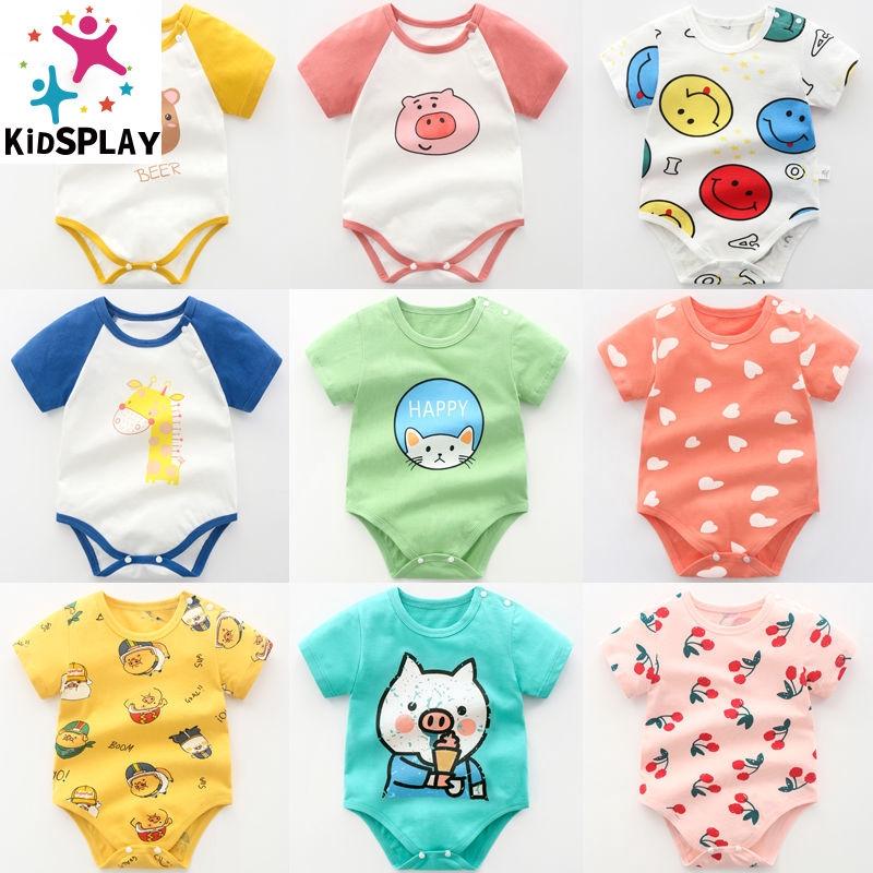 Baby Onesies Rainbow Pineapple 100/% Cotton Baby Jumpsuit Comfortable Short Sleeve Bodysuit