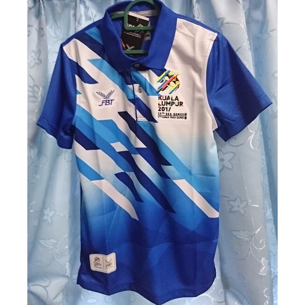 Sukan Sea Kl 2017 Sea Games Sports Polo Shirt Fbt Shopee Malaysia