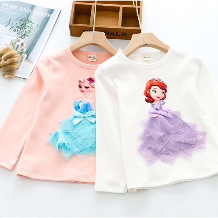 I Love Math Kids Long Sleeve Crew Neck Cotton T-Shirts Top Tees for 2-6T Baby