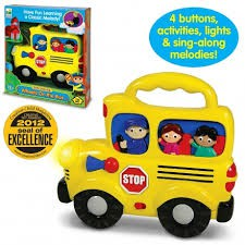 THE LEARNING JOURNEY-EARLY LEARNING WHEELS ON THE BUS 12M+