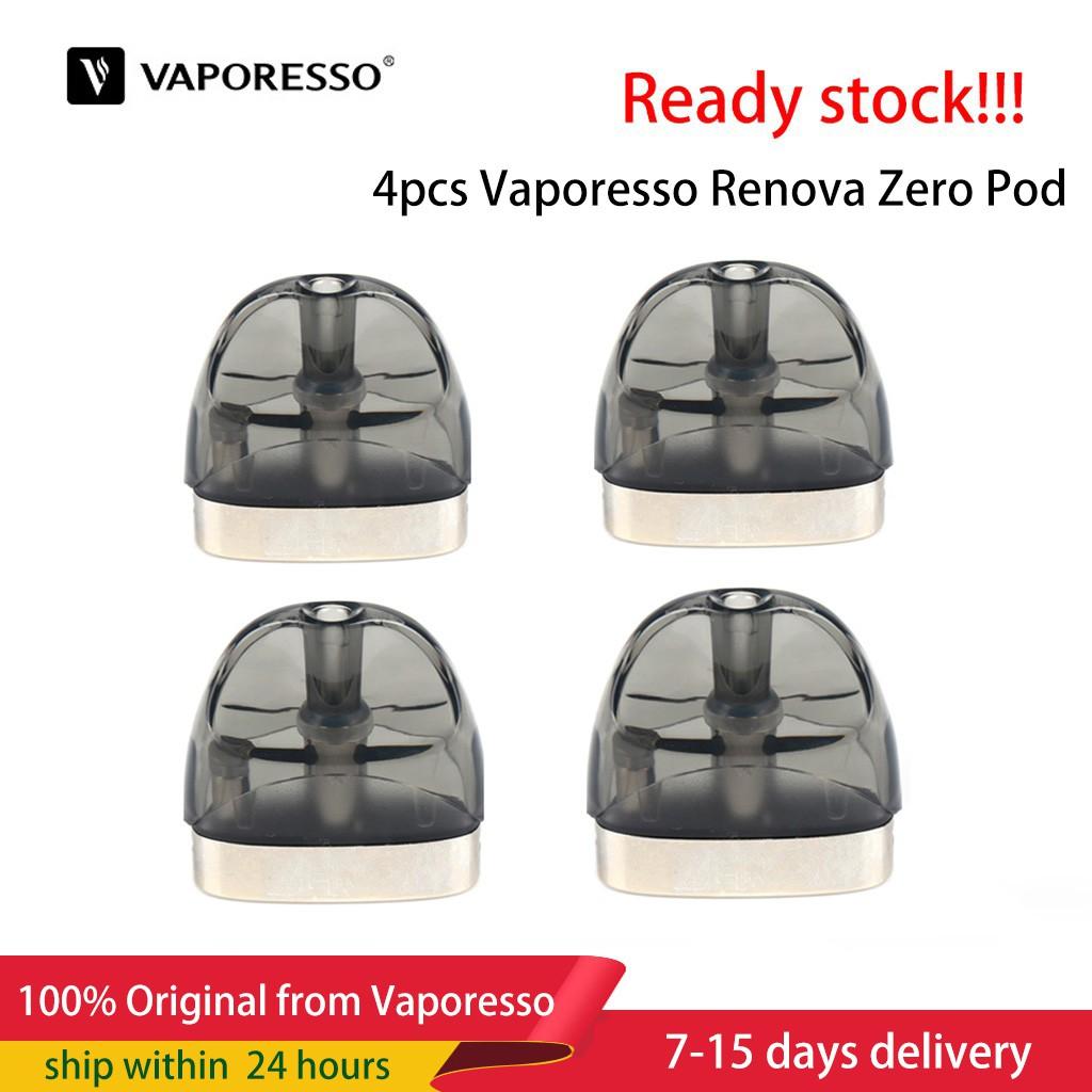 4PCS Original Vaporesso Renova Zero Pod Replacement OCC 2ml Catridge for  zero ki