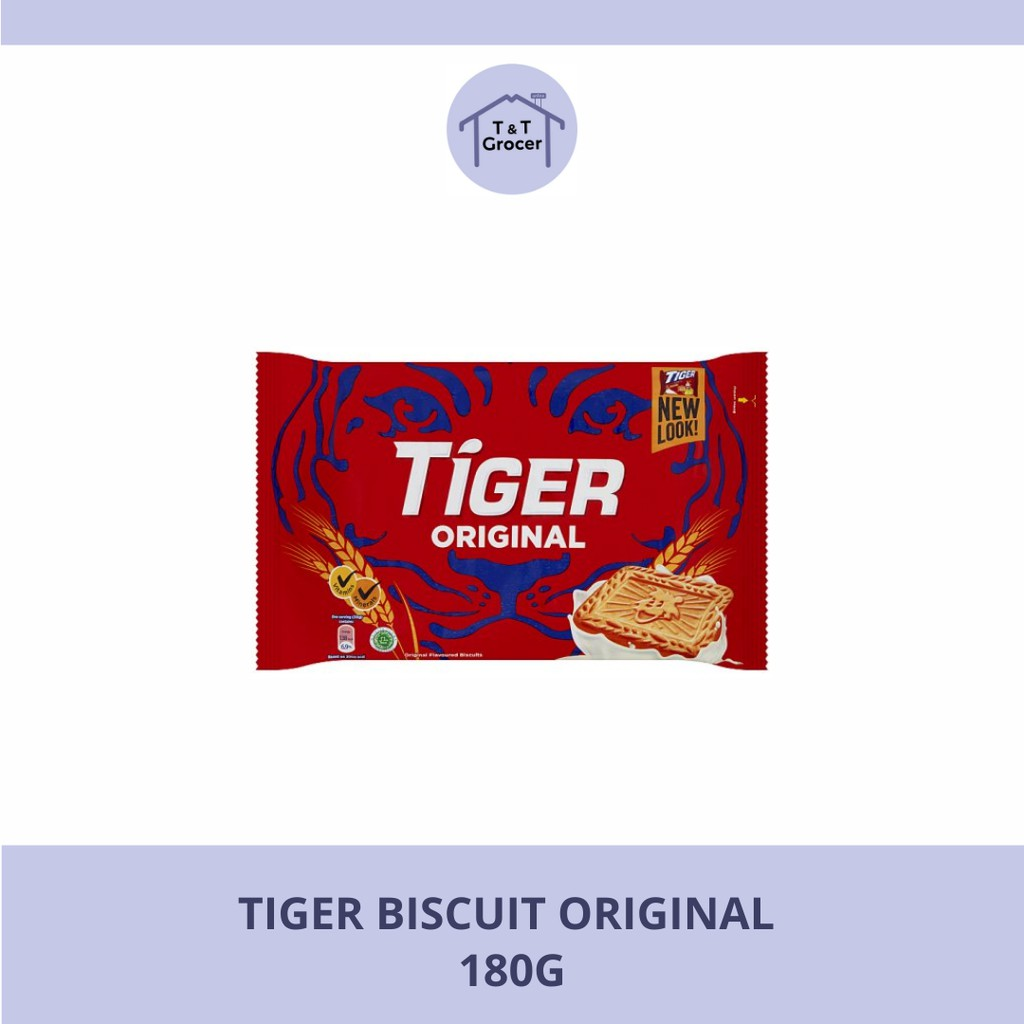 Tiger Biskut (Original 180g/ Chocolate 180g/ Susu 175g)