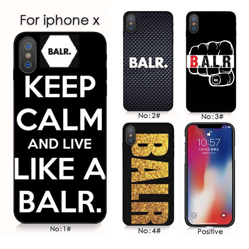 los angeles 2a3df dce56 BALR iphone 6s 7 8 X XS 6PLUS Cell Phone Case