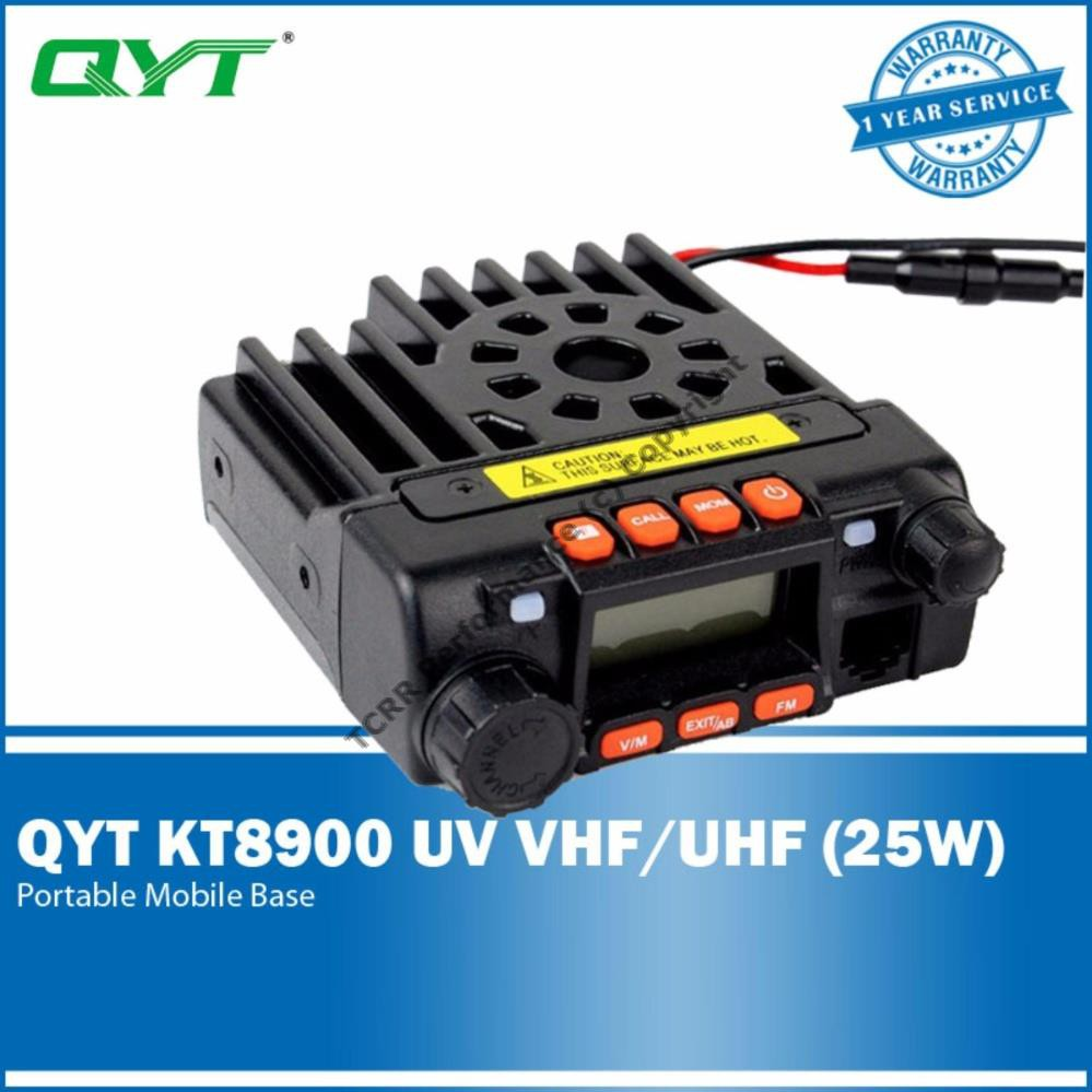 Dual Band VHF/UHF Transceiver 25W QYT KT-8900 Car/ Trunk Mobile Radio  ORIGINAL
