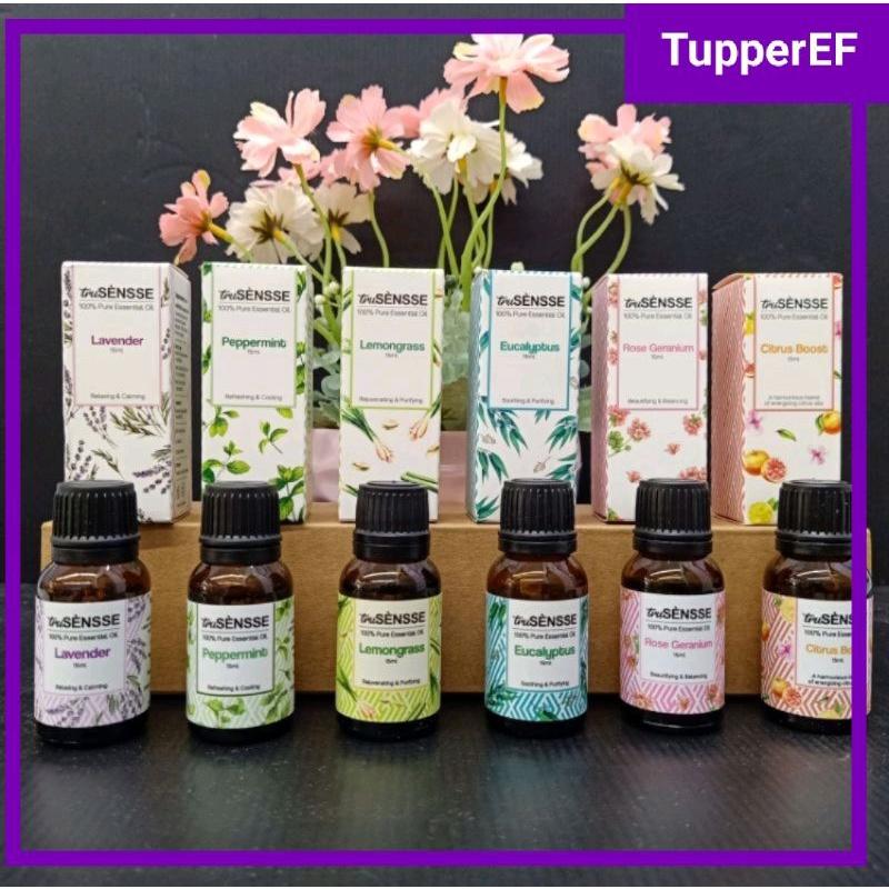 [Ready Stock] Tupperware Trusensse 100% Pure Essential Oil (1btl) 15ml