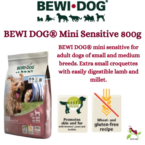 Bewi Dog Food Mini Sensitive 800G