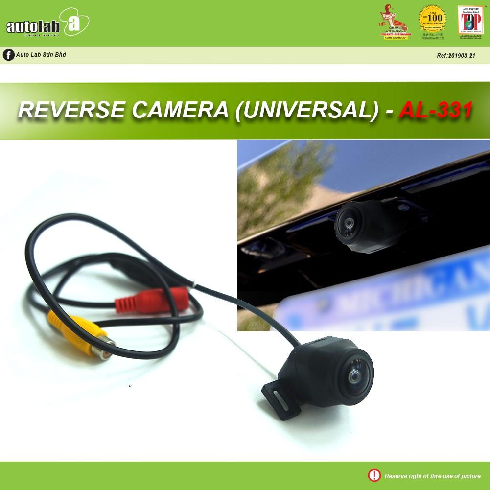 Universal Rear View Reverse Camera CCD AL-331