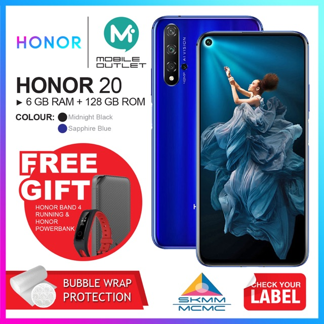 Honor 20 6GB/128GB (Original Honor Msia)