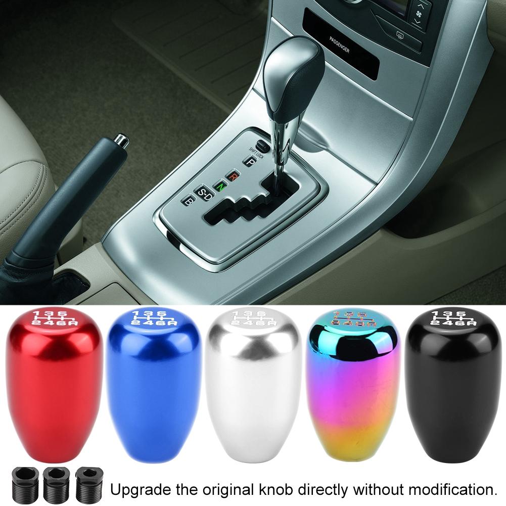Aramox Gear Shift Knob Car Universal Modification Manual Carbon ...