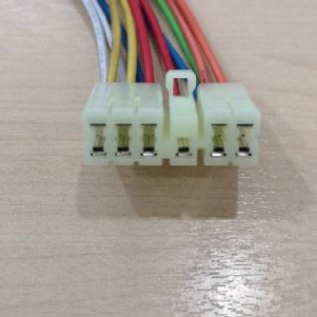 Waja Gen2 Main Power Window Switch Wire Harness Socket Connector Oem Shopee Malaysia