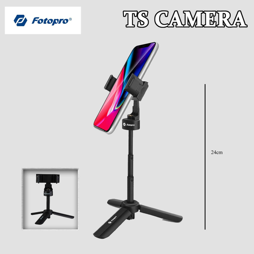 FOTOPRO SY-630 TABLETOP TRIPOD / FOTOPRO PHONE TRIPOD / SELFIE STICK / TRIPOD FOR PHONE