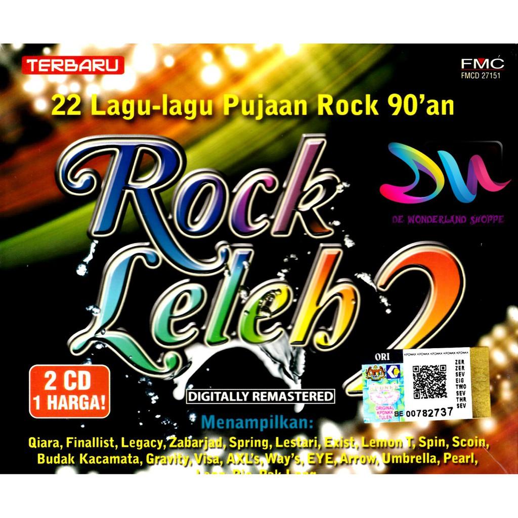 Rock Leleh 2CD 20 Lagu-Lagu Pujaan Rock 90an Spring Sting Exist Slam Ukays   756d1abba2