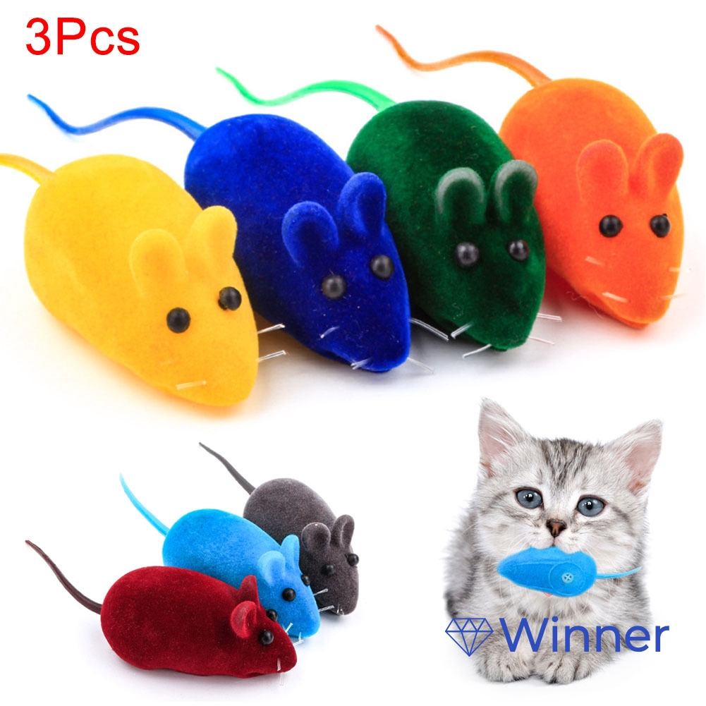 6.5cm Funny Pet Kitten Cat Playing Feather Mouse Rat Mice Ball Cage Pet Toy Gift