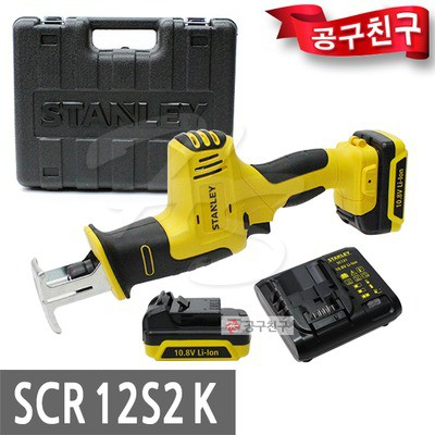 STANLEY SCR12S2 CORDLESS SABRE SAW RECIPROCATING SAW RECIP SAW 10.8V