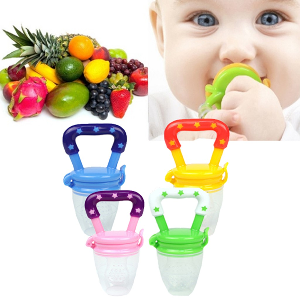 Fun Fruits Shape Ice Chewy Teethers Baby Teething Toy Baby Stand Teether