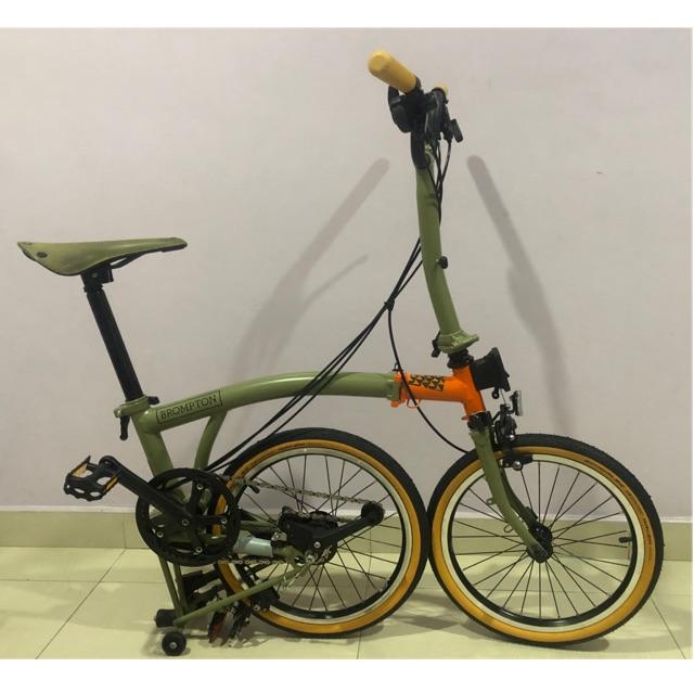 Brompton explorer folding bike Shopee Malaysia
