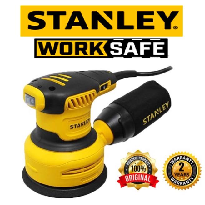 STANLEY SS30 SANDER 300W ROS SANDER EASY USE SAFETY GOOD QUALITY