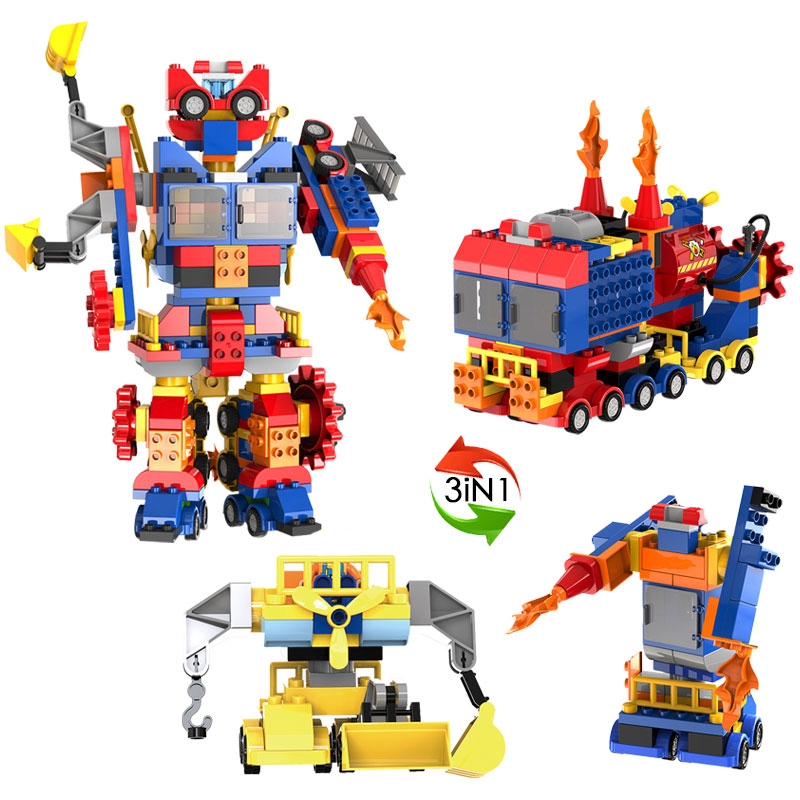 GIFT PACK 8 SETS IN GIFT PACK PIRATE SERIES /& POLICE SERIES BUILDING BLOCKS