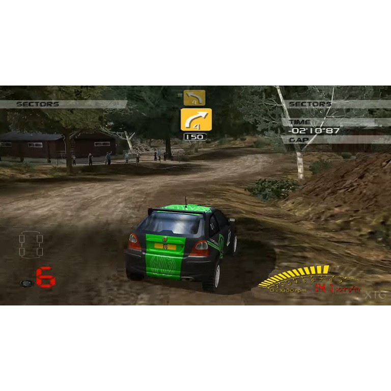 PS2 Game V-Rally 3 , Racing Game, English version / PlayStation 2