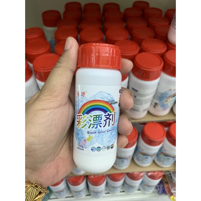 Fast Shipping❤️Bleach Colour Cleaner Clothing Cleaner Color Bleaching Powder 120g