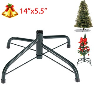 Artificial Christmas Tree Stand.Artificial Christmas Tree Stand Green Holder Base Iron Stand Holiday Home Decor