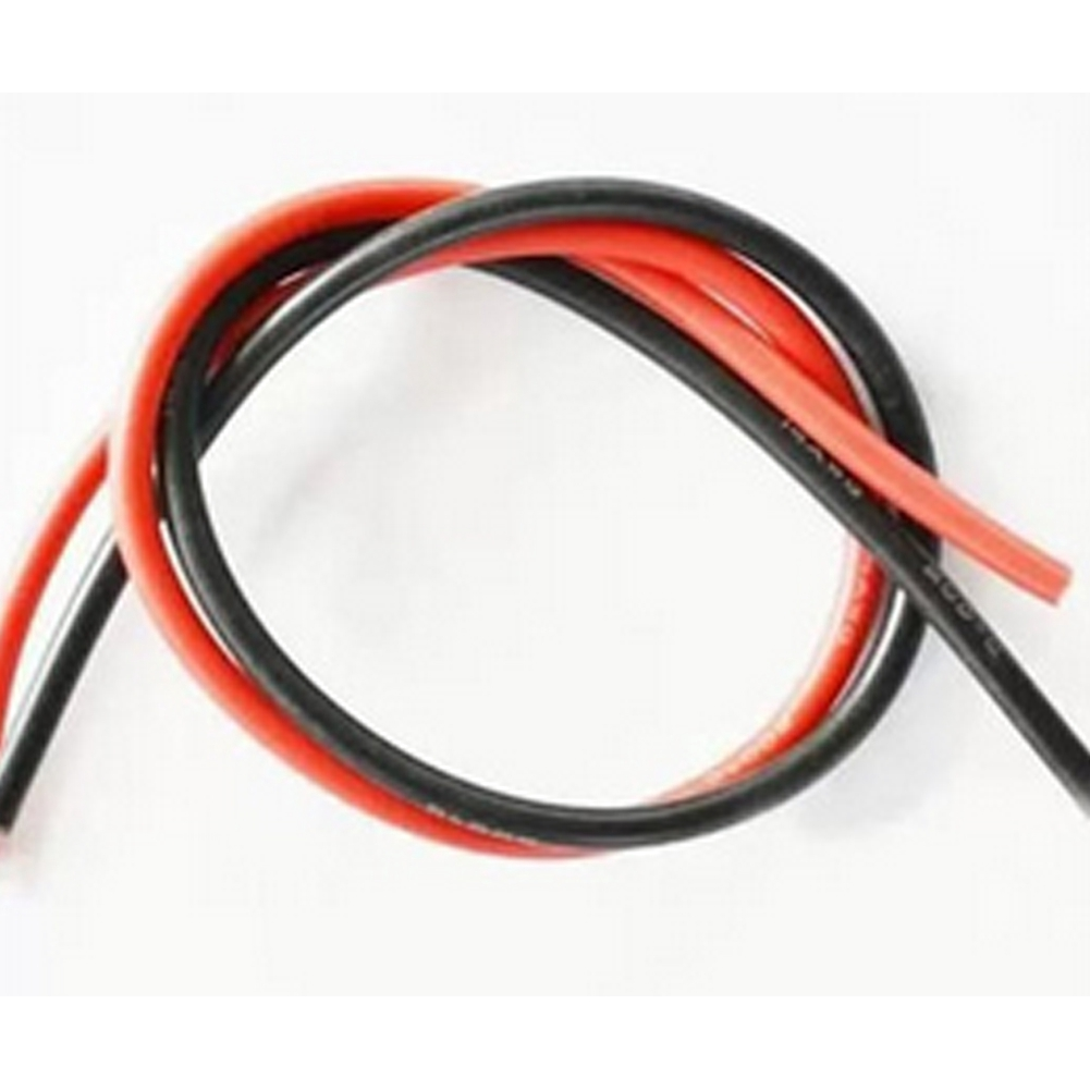 5m Black 20AWG Silicone 100//0.08mm Stranded Wire