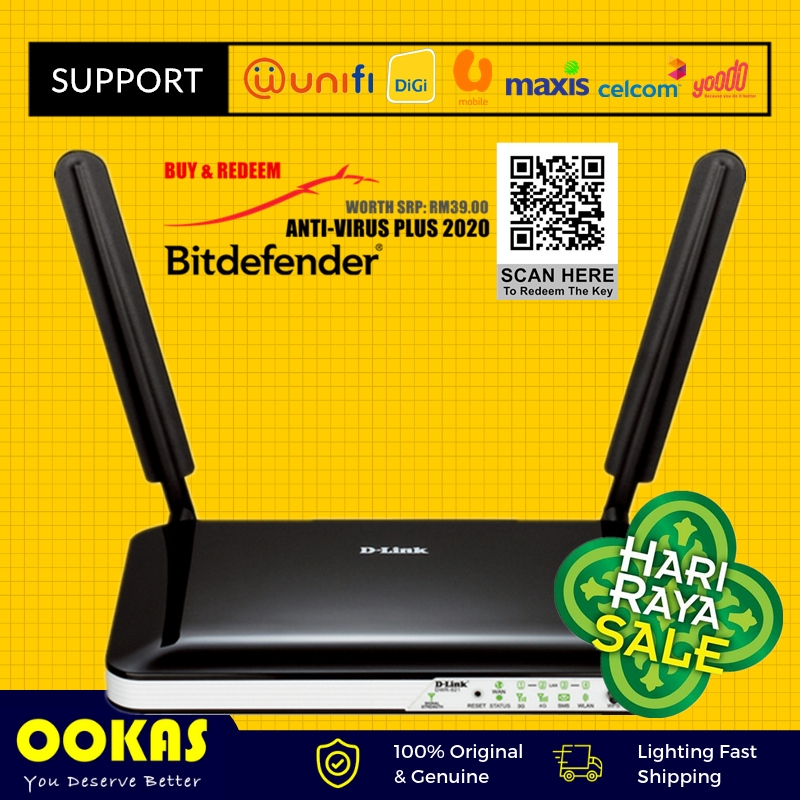D-Link DWR-921 4G 3G LTE wifi Router 4-Port unlocked