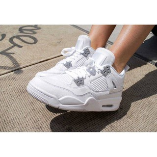 a0dcd701 Original Authentic Nike Air Jordan 4 Pure Money AJ4 Pure sil | Shopee  Malaysia