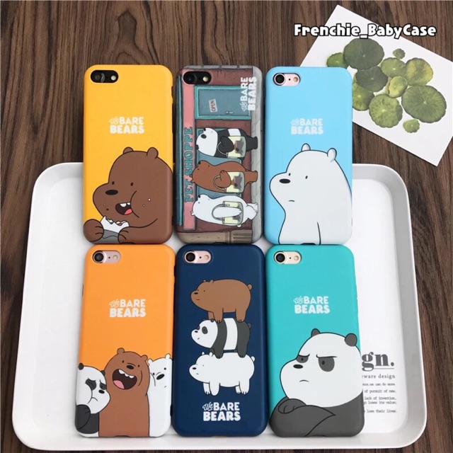 sale retailer 7483a a7394 We bare bears iPhone case casing cover 6 6s 6plus 6splus 7 7plus 8 8plus