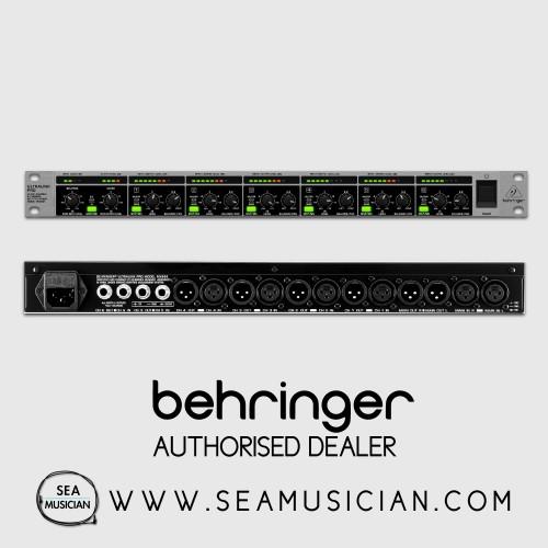 Behringer ULTRALINK PRO MX882 V2 Ultra-Flexible 8-Ch Rackmount Splitter//Mixer