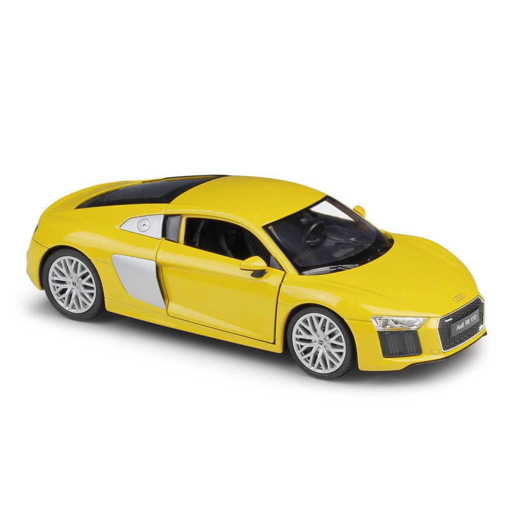 1:18 Welly Audi R8 V10 2016 yellow//silver
