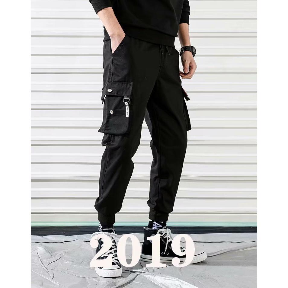 13eb3d7e Men's fashion trend tights sports fashion men's jogging pants and ...