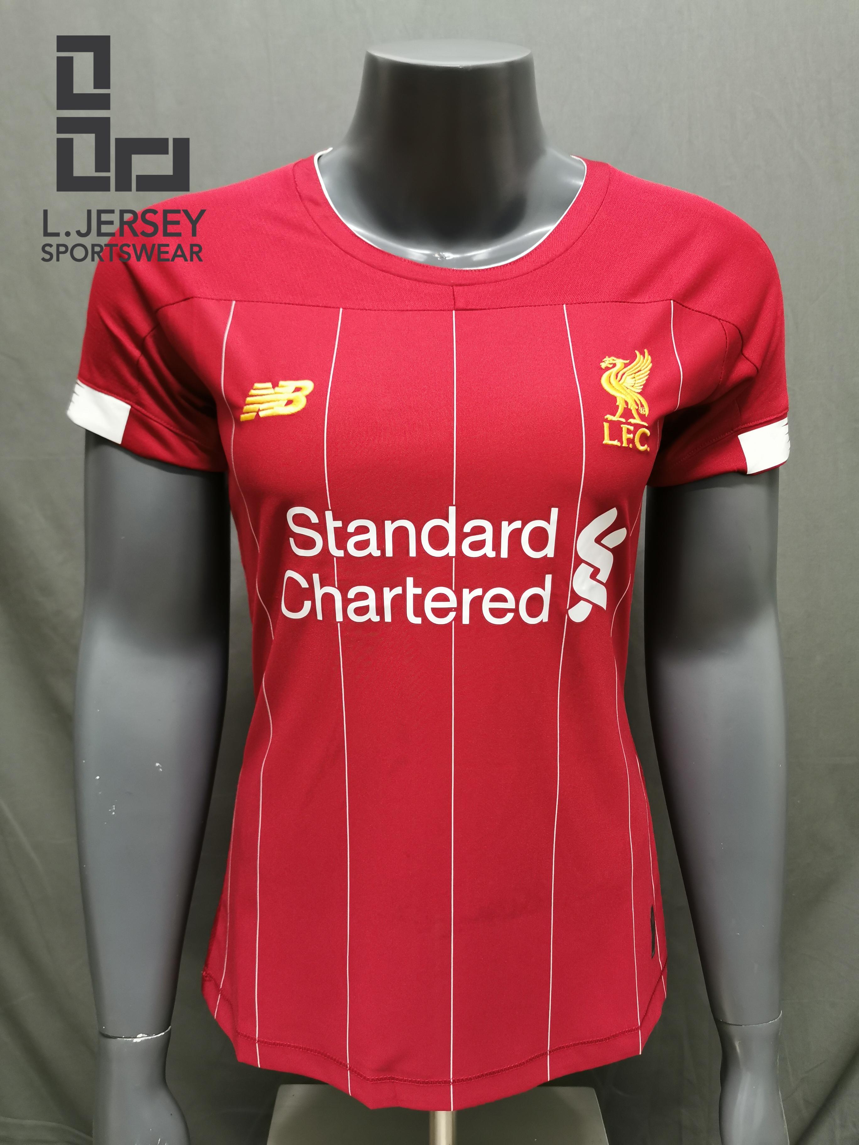 Liverpool Women Home Season 19/20 Fans Issue Jersey